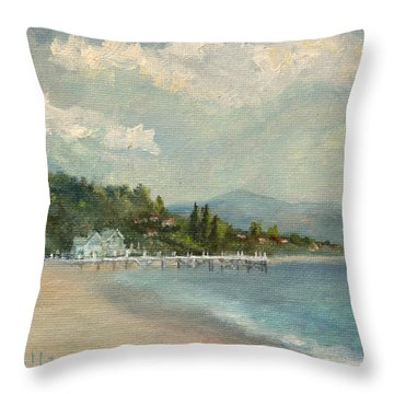 California Dreamin' On Such A Winter's Day Throw Pillow