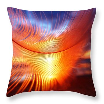 California Dreams Throw Pillow by Julia Ivanovna Willhite