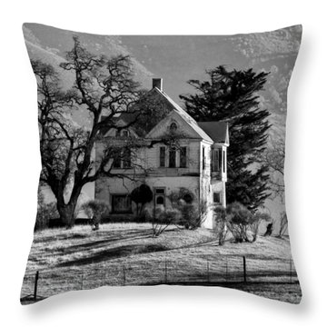 California Gothic Throw Pillow by Kandy Hurley