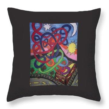 California Throw Pillow by Jonathon Hansen