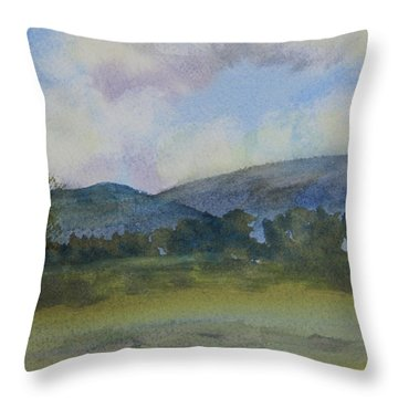 California Landscape Throw Pillow by Jan Cipolla
