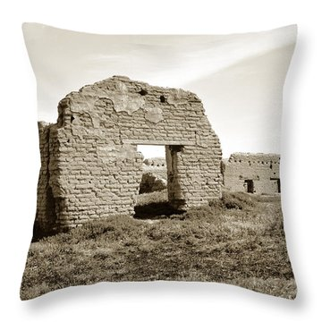 Soledad  California Mission  Monterey Co. Circa 1900 Throw Pillow