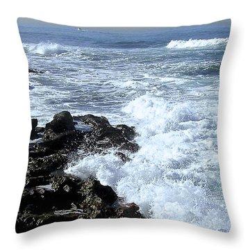 California Surf Throw Pillow