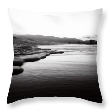 California Surf Throw Pillow by La Dolce Vita