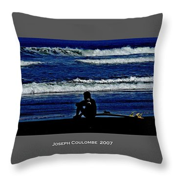 California Surfer 2007 Throw Pillow