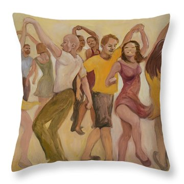 California Twirl Throw Pillow