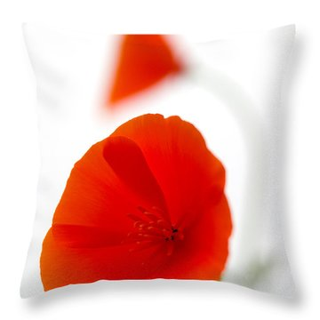Californian Poppies 2 Throw Pillow