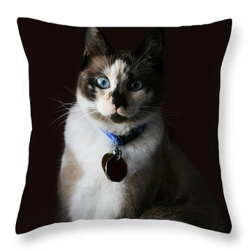 Calista Throw Pillow by Judy Whitton
