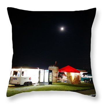 Call It A Night Throw Pillow