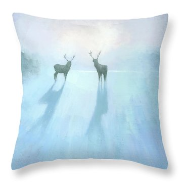 Call Of The Arctic Throw Pillow