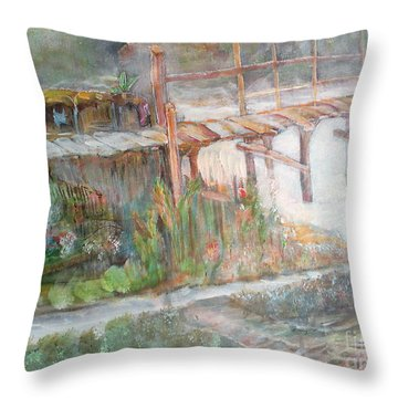 Call Of The Bridge Throw Pillow