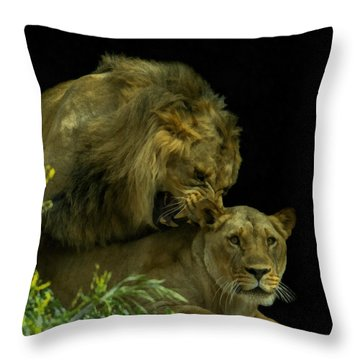 Call Of The Wild 2 Throw Pillow by Ernie Echols