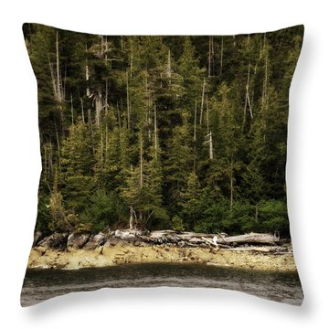 Call Of The Wild Throw Pillow by Davina Washington