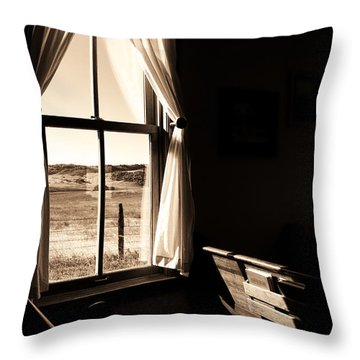 Throw Pillow featuring the photograph Call To Worship by Jim Garrison