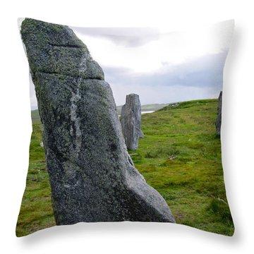 Callanish 3 Throw Pillow