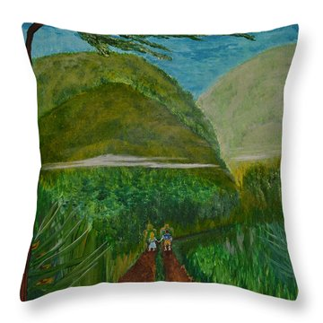 Called To The Mission Field Throw Pillow