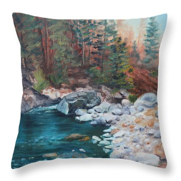 Calling Me Home Throw Pillow