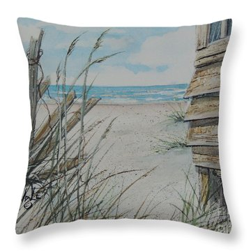 Calling Me Sold  Throw Pillow