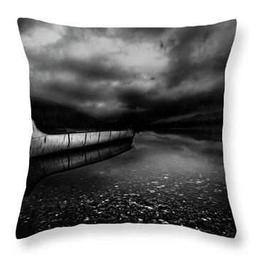 Paddle Boat Throw Pillows
