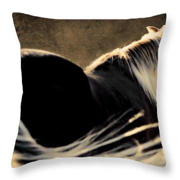 Calm Awareness 1 Vignette Throw Pillow