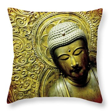 Throw Pillow featuring the photograph Calm by Bradley R Youngberg
