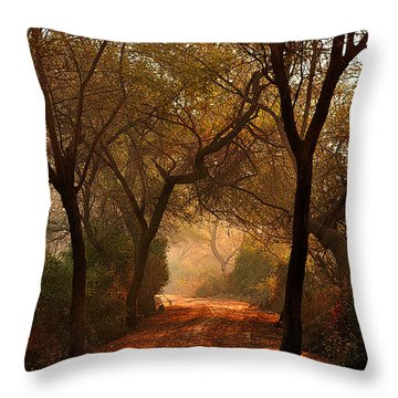 Calm Nature As Fantasy  Throw Pillow
