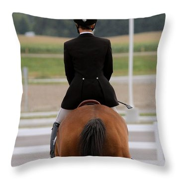 Calm Ride Throw Pillow