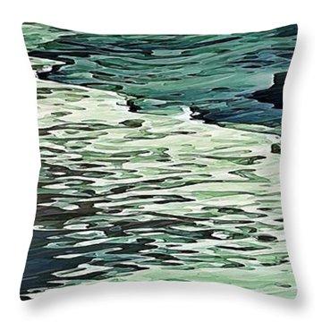 Calm Shores Throw Pillow