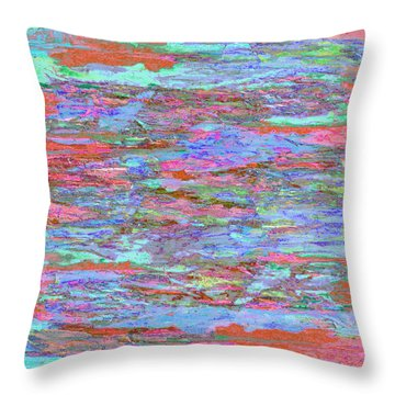 Calmer Waters Throw Pillow by Stephanie Grant
