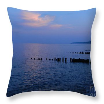 Calming Seas Throw Pillow