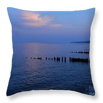 Calming Seas Throw Pillow