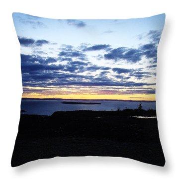 Throw Pillow featuring the photograph Calmness by Zinvolle Art