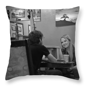 Fully Engaged Throw Pillow