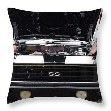 Camaro Chicks Throw Pillow