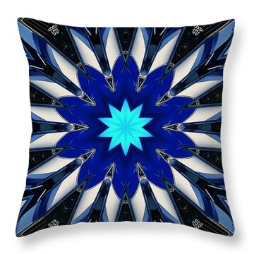 Camaro Kaleidoscope Throw Pillow by Victor Montgomery