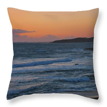 Throw Pillow featuring the photograph Cambria by Angela J Wright