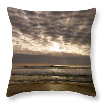 Cambria Comforter Throw Pillow by Paul Foutz