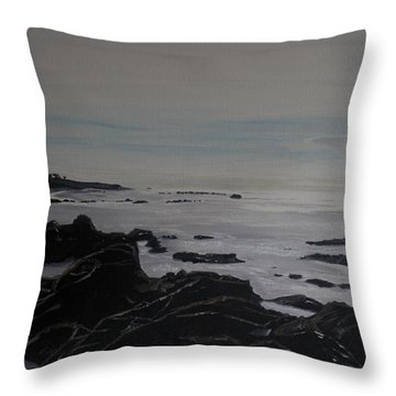 Cambria Tidal Pools Throw Pillow