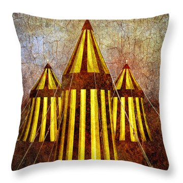 Camelot Restrained Throw Pillow by Bob Orsillo