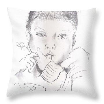 Camilla Throw Pillow by John Keaton