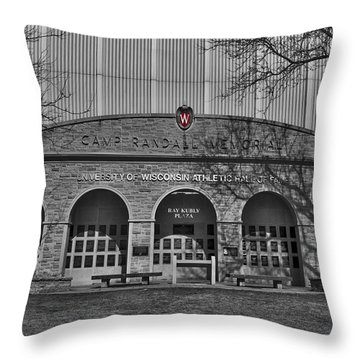 Camp Randall - Madison Throw Pillow