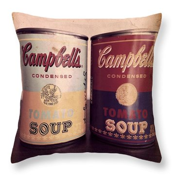 Campbells Redux 2 Throw Pillow