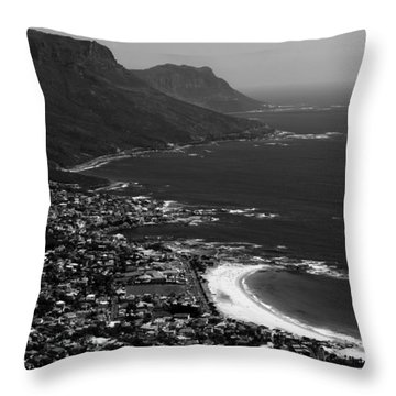 Camps Bay Cape Town Throw Pillow
