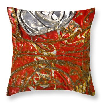 Throw Pillow featuring the photograph Can Not Anymore-front by Luc Van de Steeg