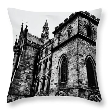 Throw Pillow featuring the photograph Can You Hear Me by Doc Braham