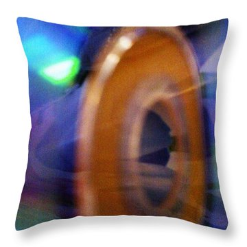 Throw Pillow featuring the photograph Can You Tell What It Is Yet? by Martin Howard