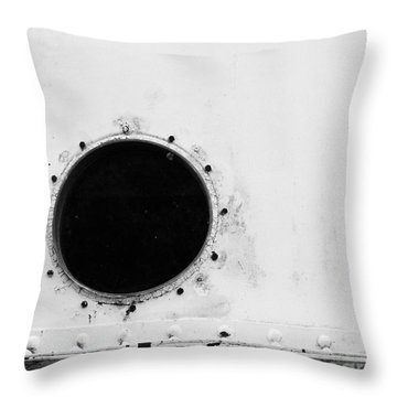 Cana Look Out Throw Pillow by Jim Rossol