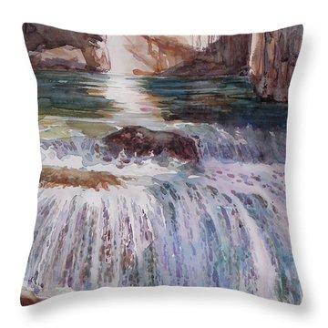 Canada Cascade Throw Pillow