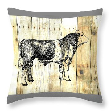 Canadian Champion 9 Throw Pillow