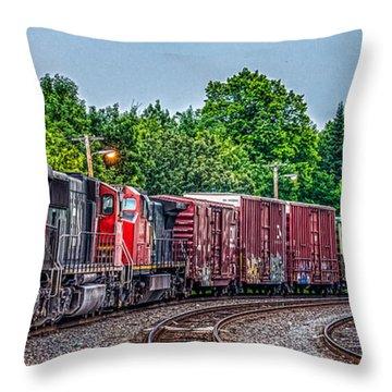 Canadian National Throw Pillow